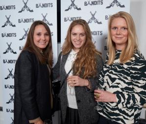 Tatler Magazine's Clare Schifano, Sophie Wilson and Jessica Hislop