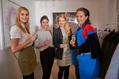 Rebecca Cowell, Etty Hill, Emma Roberts and Ana Konder