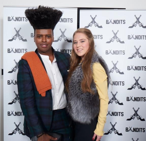 Prince Cassius and Polina Barnard