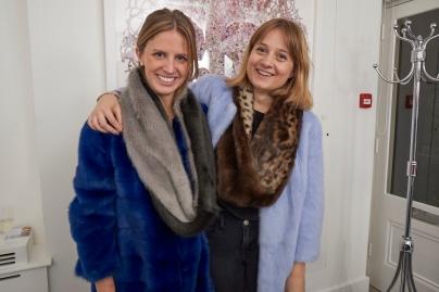 Davina Collas and Hannah Flint