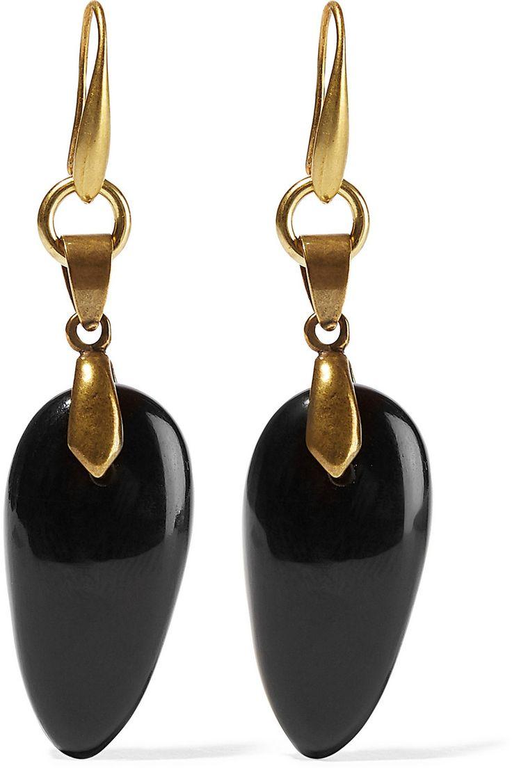 Gold Earrings House of Bashka